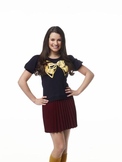 Glee: Lea Michele nei panni di Rachel