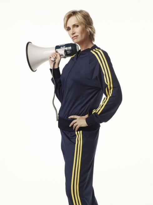 Jane Lynch è la professoressa Sue Sylvester in Glee