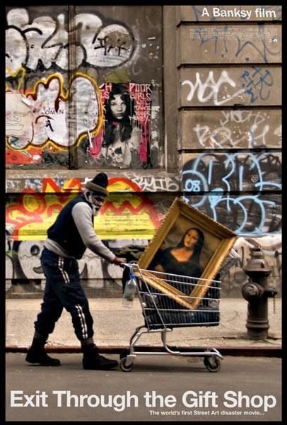 La locandina di Exit Through the Gift Shop