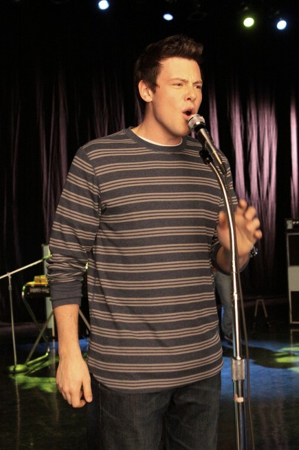 Cory Monteith nell'episodio Hell-O di Glee