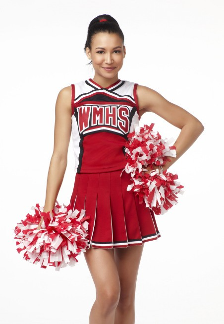 Naya Rivera è Santanain Glee
