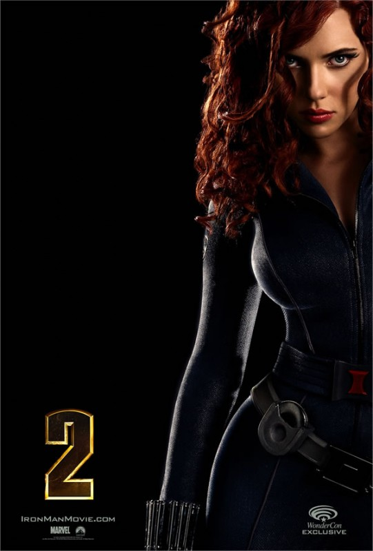 Poster di Black Widow, sexy villain di Iron Man 2