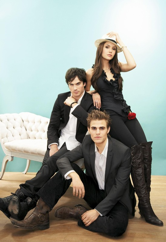 Un photoshoot di Ian Somerhalder, Nina Dobrev e Paul Wesley per The Vampire Diaries