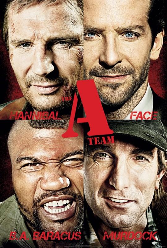 Ancora un poster con i volti dell'A-Team