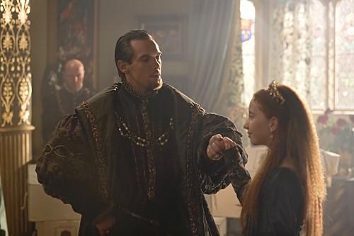 I Tudors: Jonathan Rhys Meyers ed Eoin Murtagh nella premiere della stagione 4