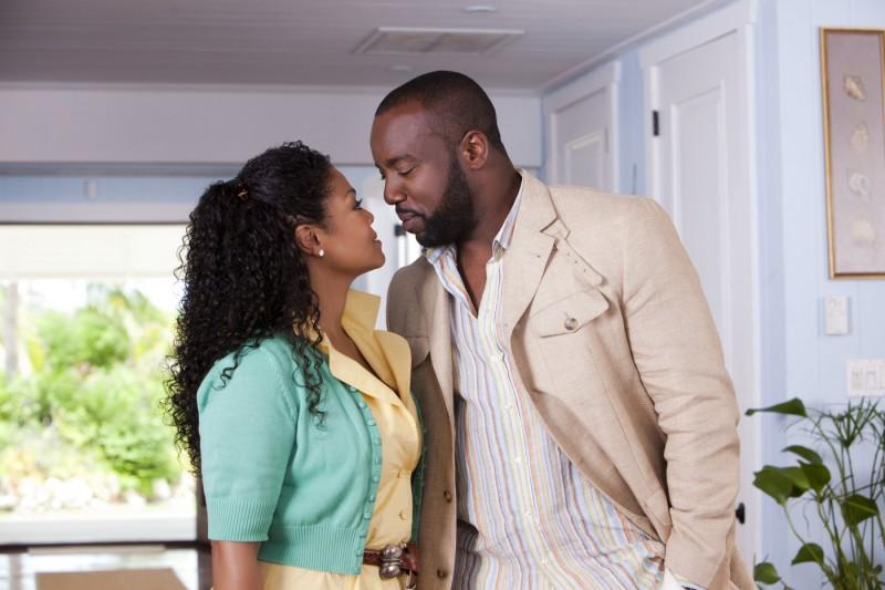 Janet Jackson e Malik Yoba nel film Why Did I Get Married Too?