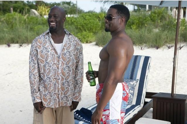 Michael Jai White e Lamman Rucker in una scena del film Why Did I Get Married Too?
