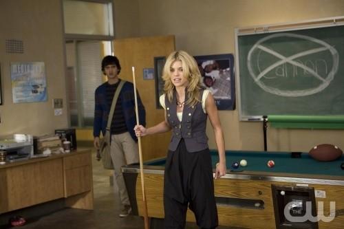90210: AnnaLynne McCord e Michael Steger nell'episodio Clark Raving Mad