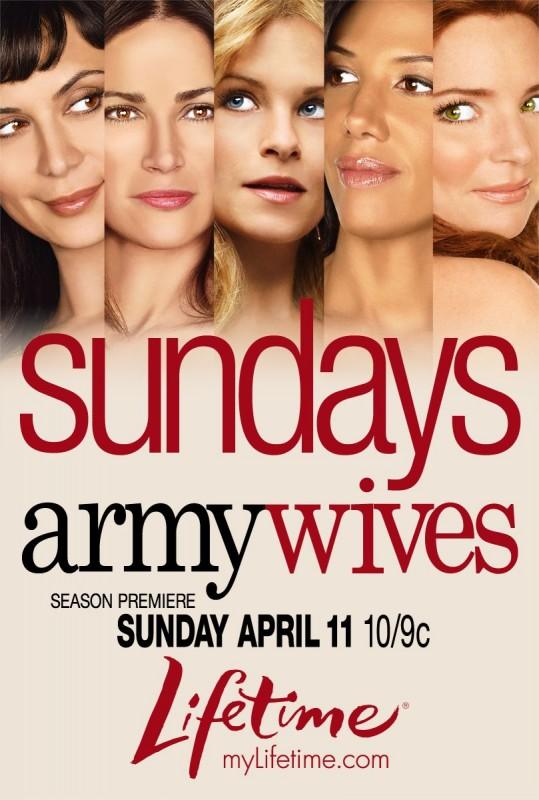 La locandina della Stagione 4 di Army Wives - Conflitti del cuore