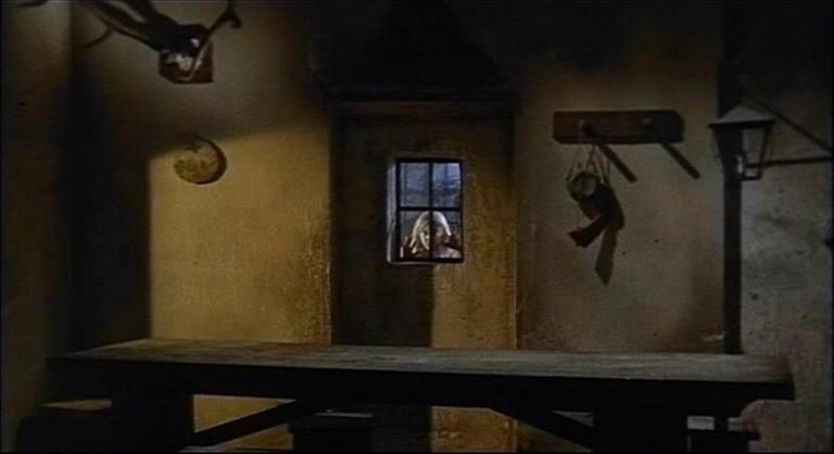Una inquietante scena del film Operazione paura (1966)