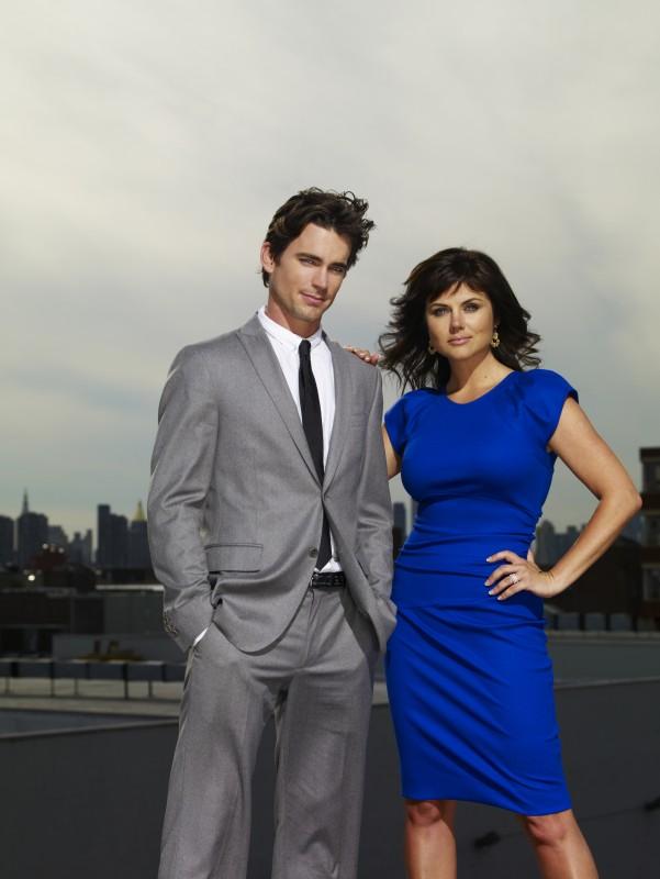White Collar: Matthew Bomer e Tiffani Thiessen in una foto promozionale della serie