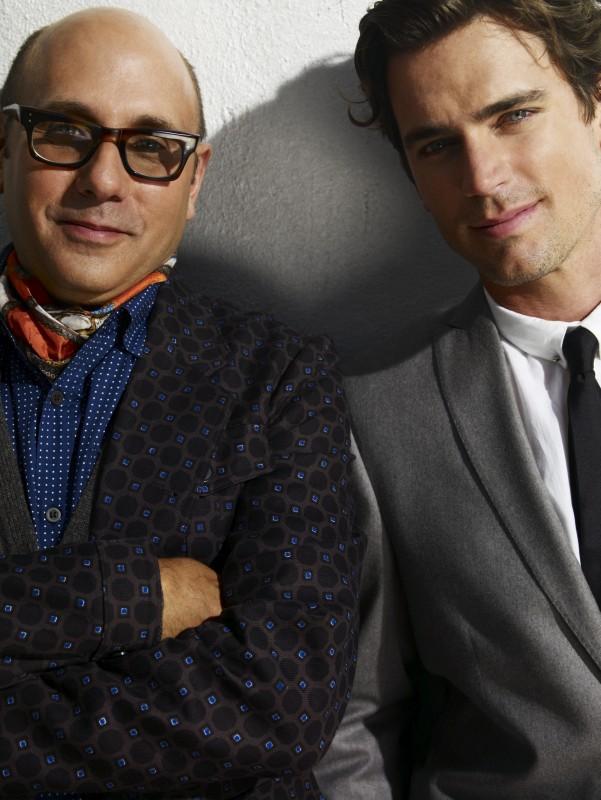 White Collar: Willie Garson e Matthew Bomer in una foto promozionale della serie