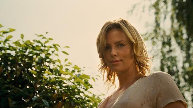 Charlize Theron in un'immagine del film The Road