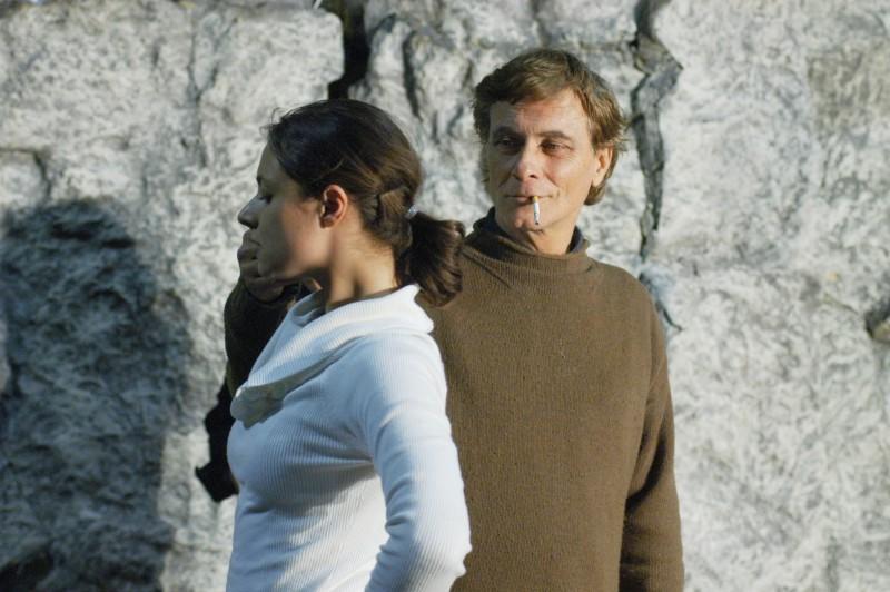 Cinecittà-Teatro 5 - prove di 'Upupa My Dream is My Rebel King' Antonio Orfanò dirige Lorenza Caroleo