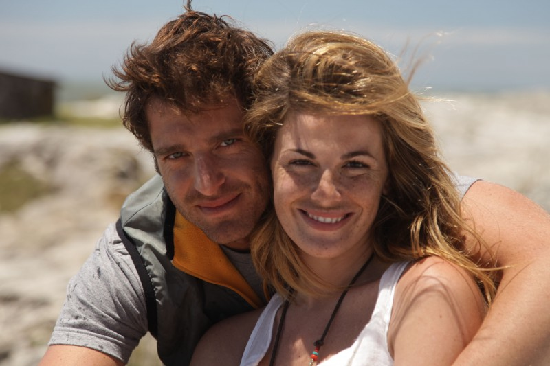 Giampaolo Morelli e Vanessa Incontrada nella fiction Un paradiso per due