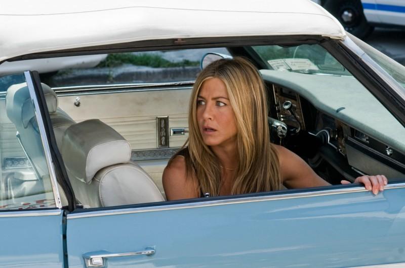 Jennifer Aniston in una scena de Il cacciatore di ex
