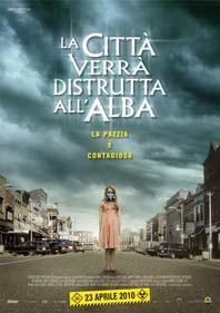 Locandina italiana del film La città verrà distrutta all'alba