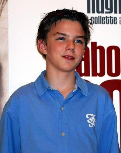 Nicholas Hoult alla premiere del film About a Boy