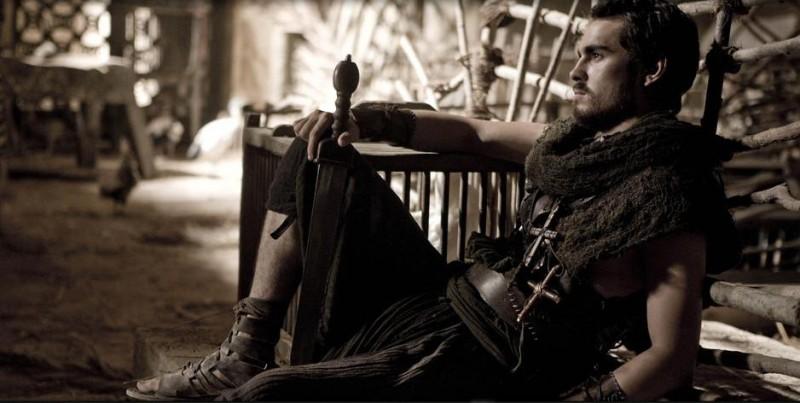 Rupert  Evans interpreta Sinesio nel film Agora