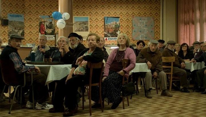 Una scena del film Simon Konianski