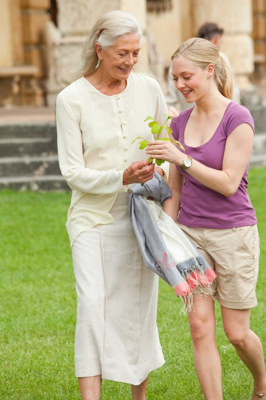 Una sequenza del film Letters to Juliet con Vanessa Redgrave e Amanda Seyfried