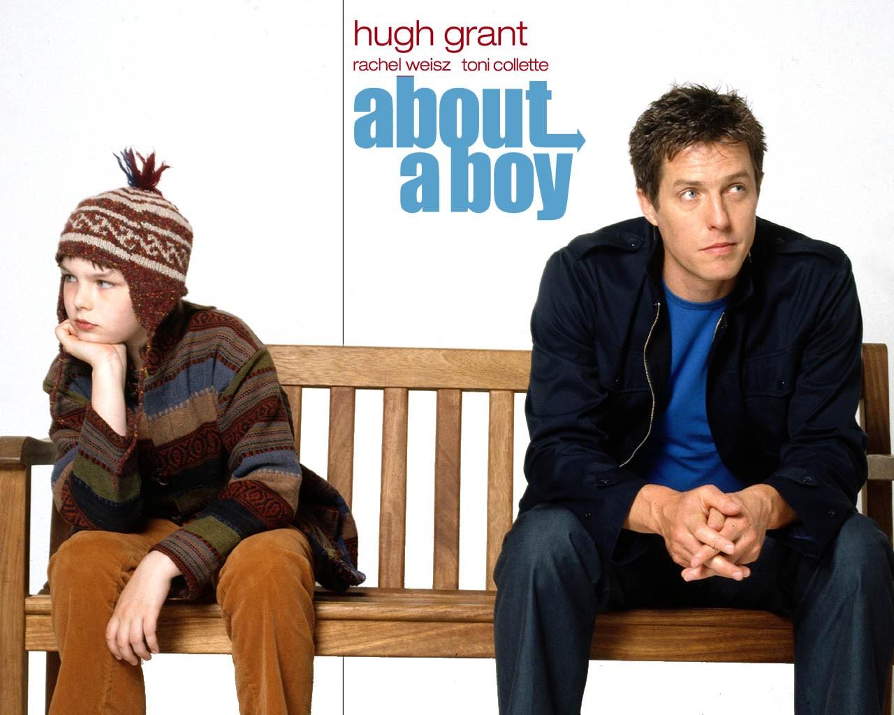 Wallpaper del film con i due protagonisti, Hugh Grant e Nicholas Hoult.