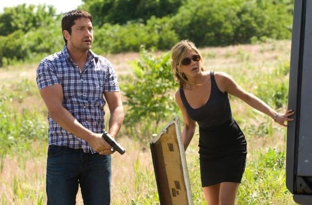 Gerard Butler e Jennifer Aniston, protagonisti de Il cacciatore di ex
