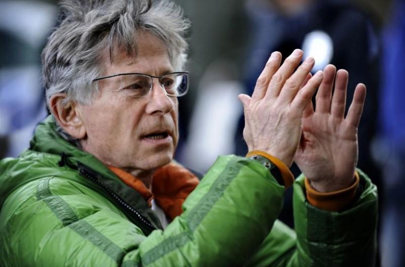 Il regista Roman Polanski sul set del suo film L'uomo nell'ombra