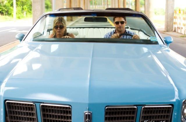 Jennifer Aniston con Gerard Butler nel film Il cacciatore di ex