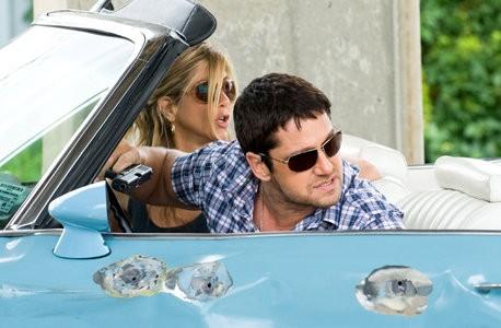 Jennifer Aniston e Gerard Butler, in fuga per la vita ne Il cacciatore di ex