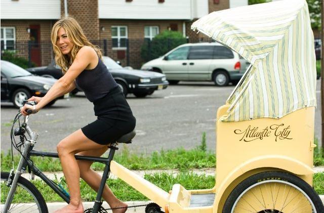 Jennifer Aniston in una scena della commedia Il cacciatore di ex