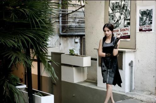 Laura Glavan in un'immagine del film Piazza Giochi