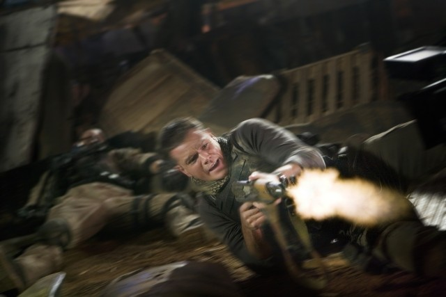 Matt Damon è il soldato Roy Miller in Green Zone
