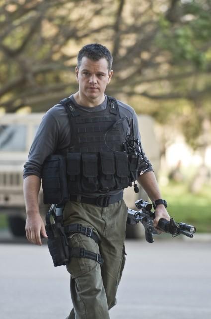 Matt Damon in un'immagine di Green Zone