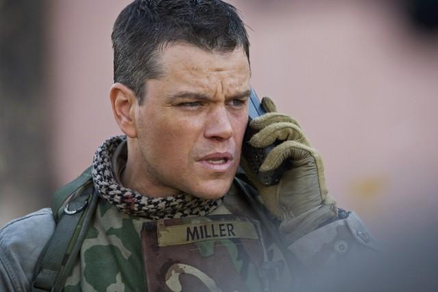Matt Damon, protagonista del thriller Green Zone