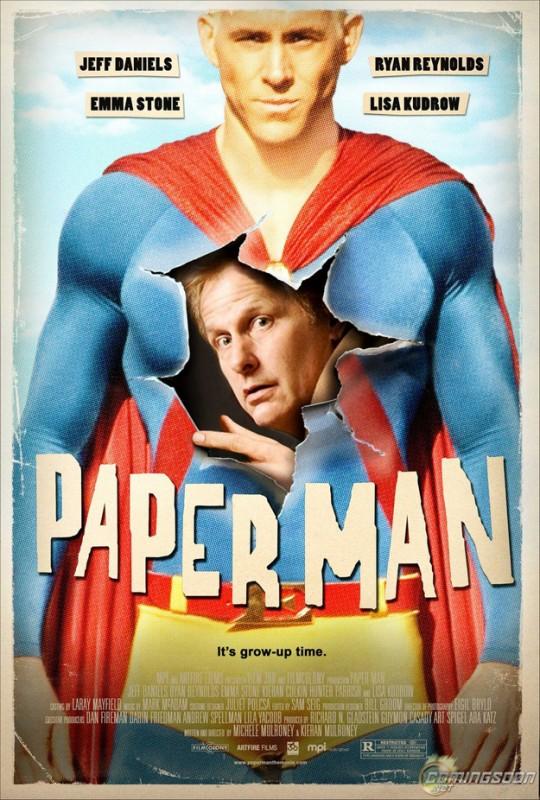 Nuova locandina di Paper Man