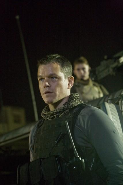 Primo piano di Matt Damon dal film Green Zone