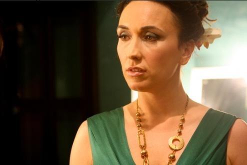 Susanna Smit in una scena del film Piazza Giochi