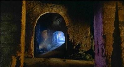 Il suggestivo villaggio del film Operazione paura (1966)
