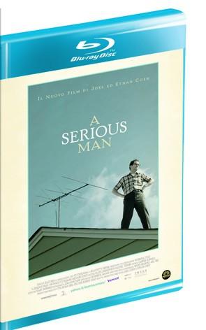 La copertina di A Serious Man (blu-ray)
