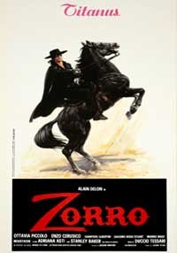La copertina di Zorro (dvd)
