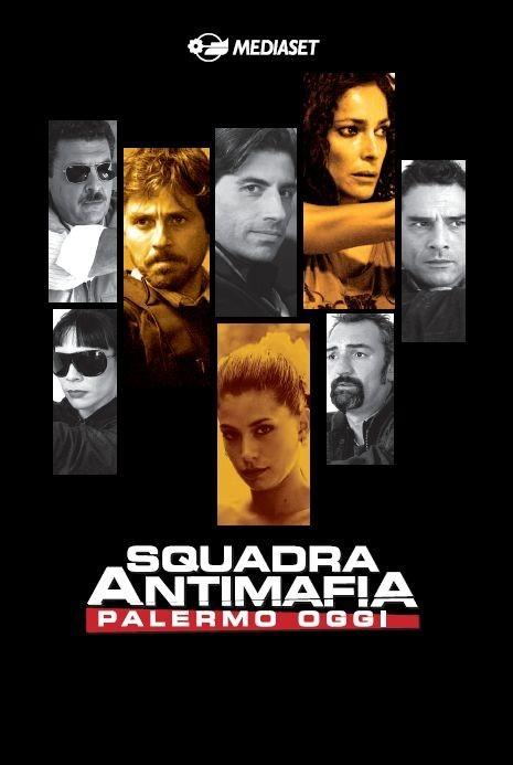 La locandina di Squadra antimafia - Palermo oggi