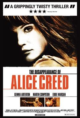 La locandina di The Disappearance of Alice Creed