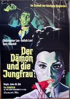 Locandina tedesca del film La frusta e il corpo
