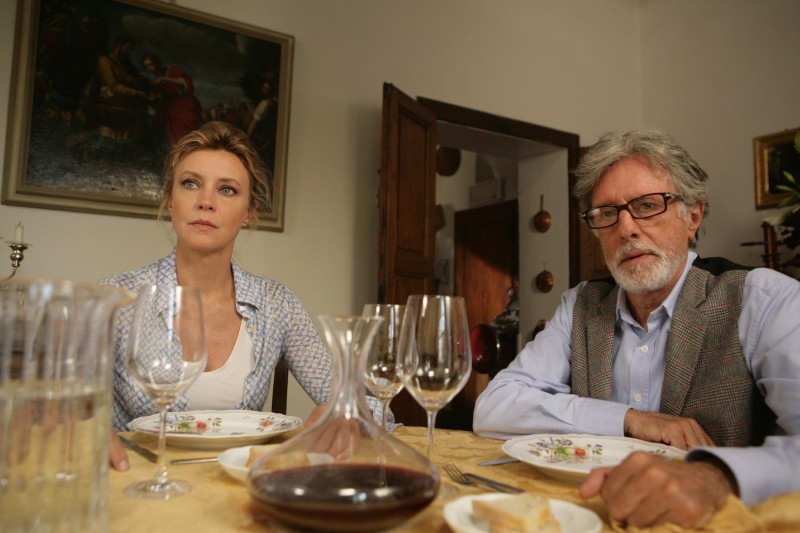 Margherita Buy e Massimo De Francovich in una scena del film Matrimoni e altri disastri