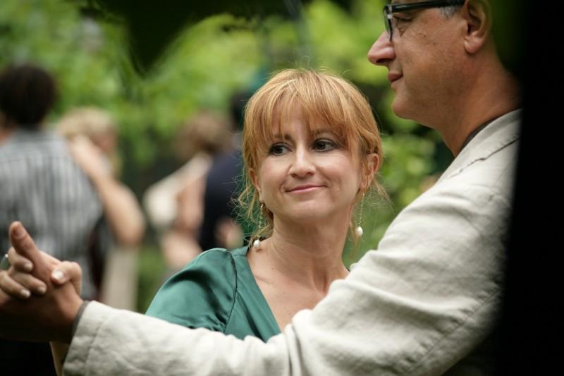 Un'immagine di Luciana Littizzetto dal film Matrimoni e altri disastri