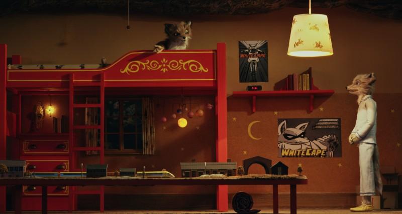 Ash e Kristofferson, cugini Fox in competizione in Fantastic Mr. Fox (2009)