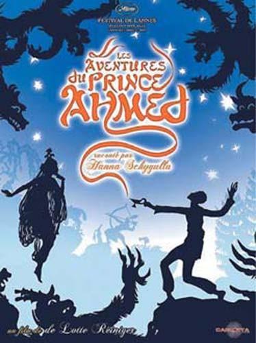 La locandina di Le avventure del principe Achmed