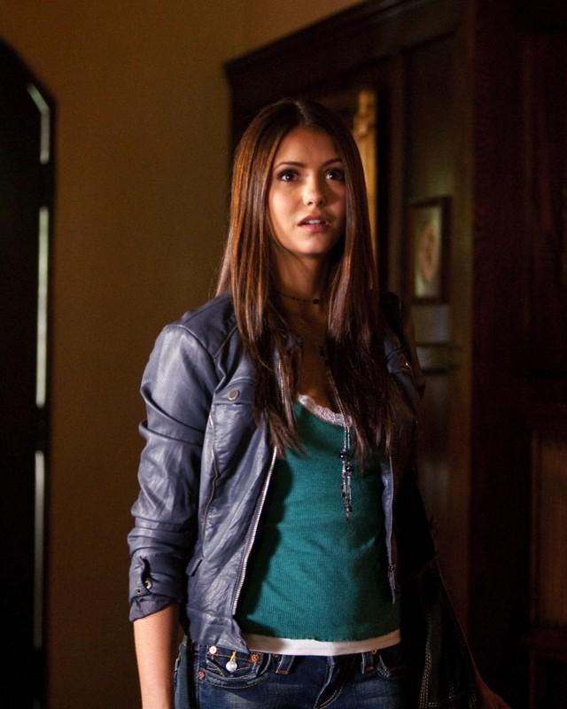 Un'immagine di Nina Dobrev tratta dall'episodio Let the Right One In di Vampire Diaries