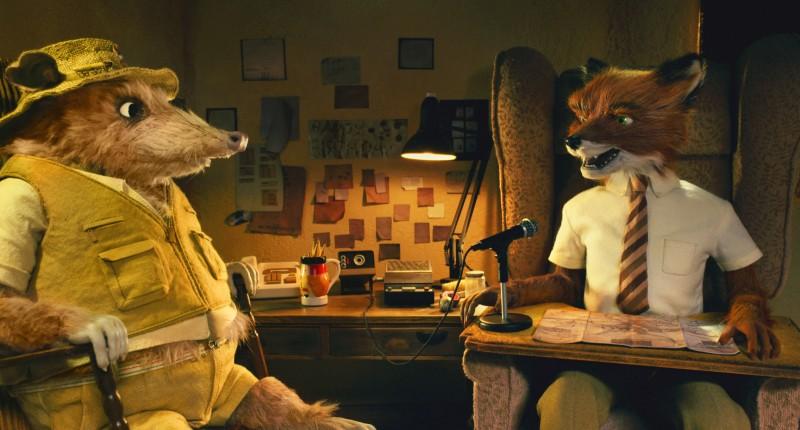 Un'immagine tratta dal film d'animazione Fantastic Mr. Fox (2009)